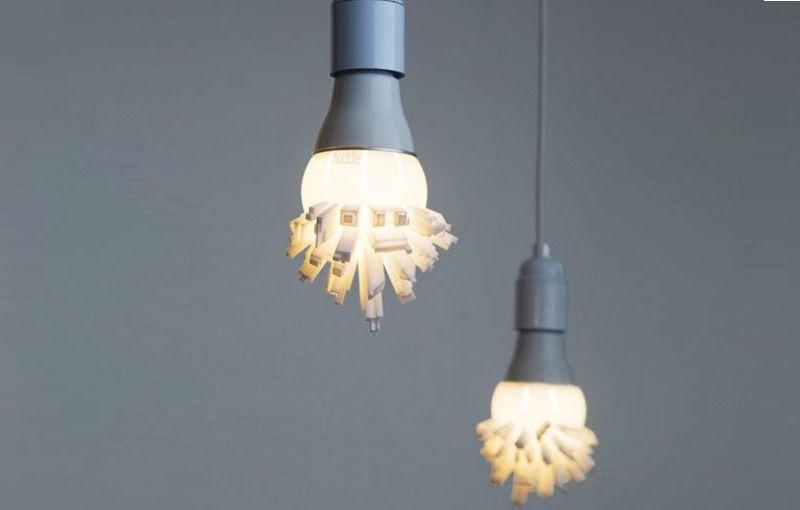 Cityscape lamp shade
