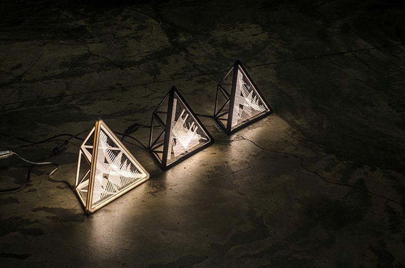 Cityscape lamp