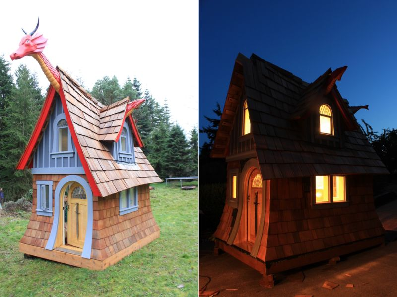 fairy tale inspired wooden outdoor playhouses by chris axling cheap outdoor wooden playhouses wooden outdoor playhouses skyloft kids uk