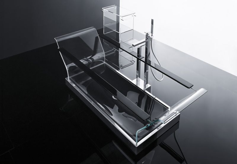 Cristalli bathtub by Novellini