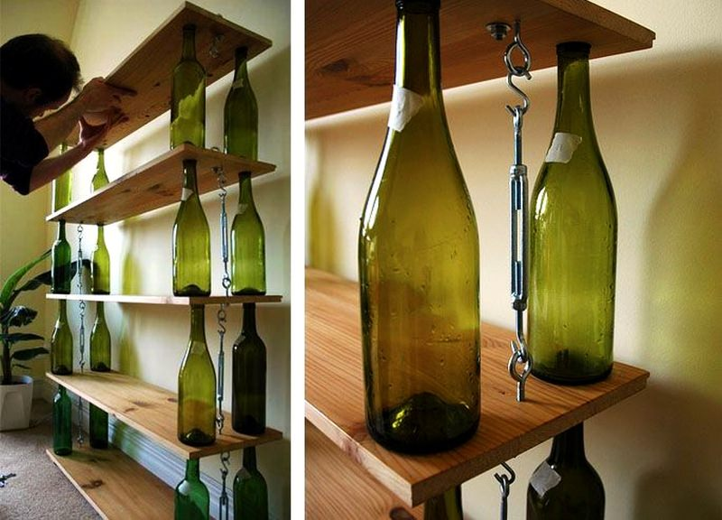 Diy Wine Bottle Crafts 40 Wine Bottle Decoration Ideas