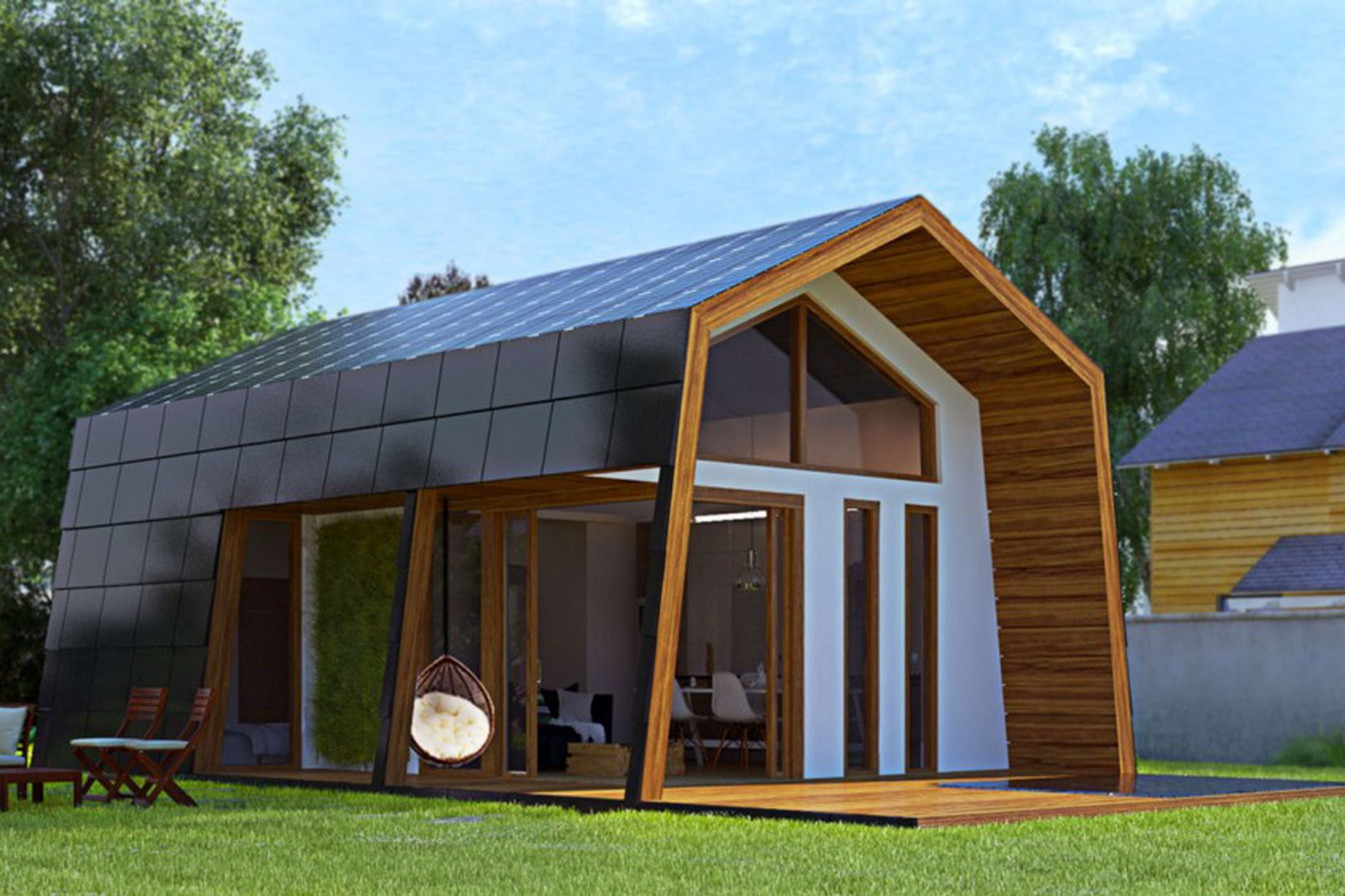 ecokit 39 s prefab cabin is sustainable home you can assemble ForEco Cabin Kits