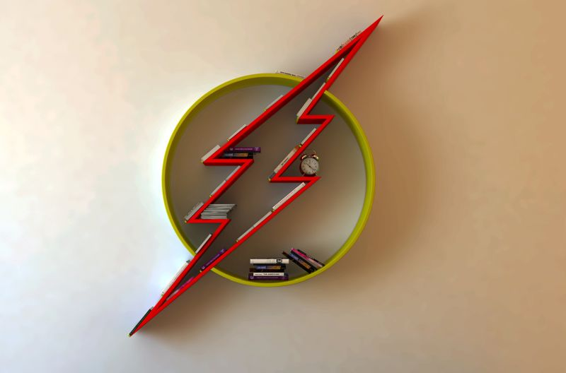Flash Logo Shelf