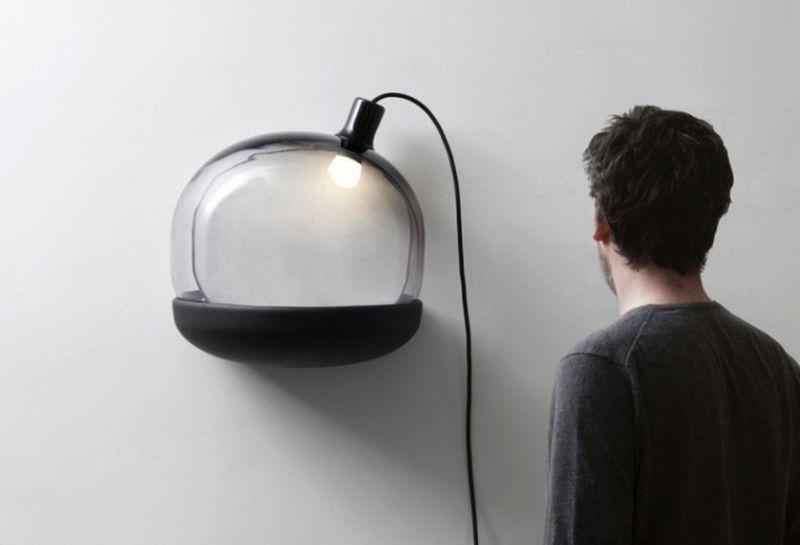 Glass Lamp by GGSV Studio