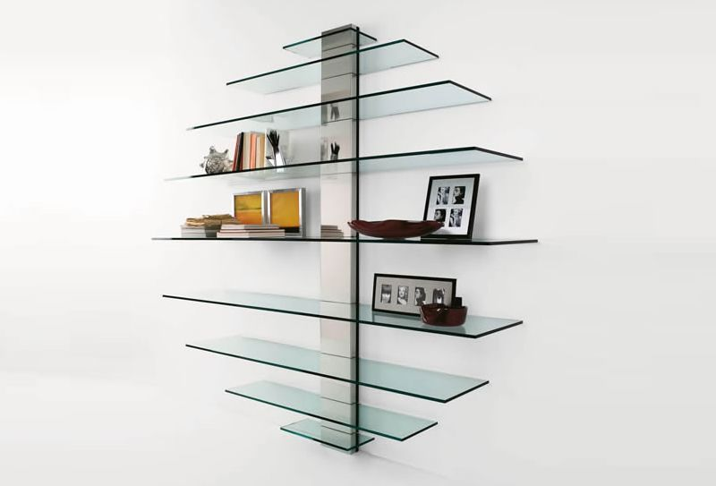 Glass Shelf by Tonelli Design