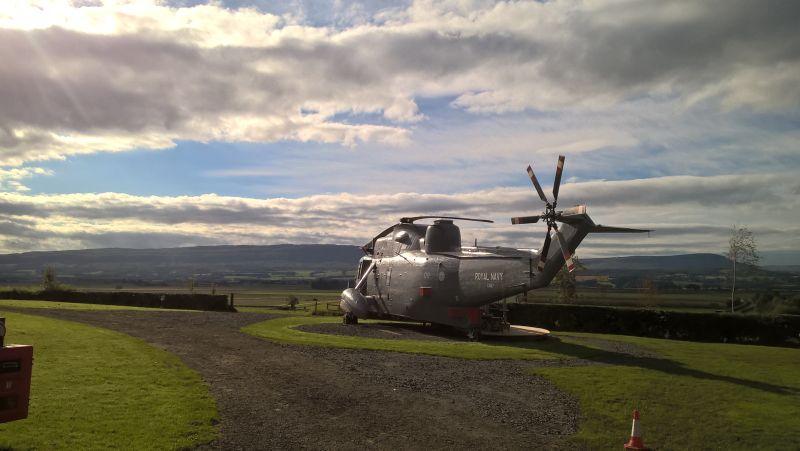 Royal Navy ZA127 at Scotland