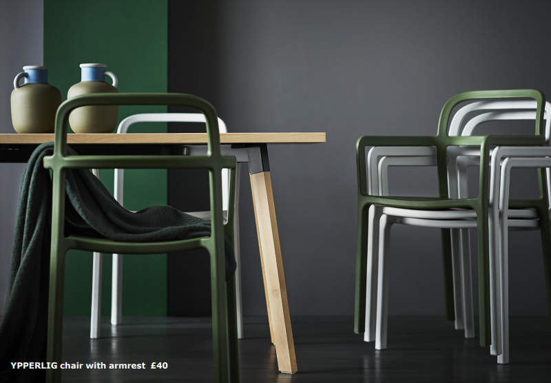ikea and hay to unveil ypperlig collection this fall. Black Bedroom Furniture Sets. Home Design Ideas