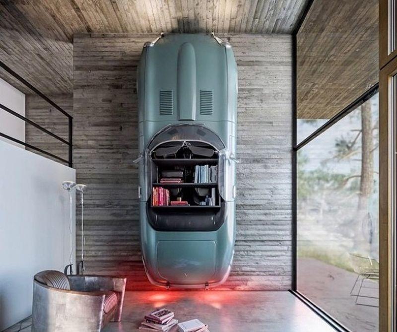 Perfect Jaguar Car Bookshelf Great Pictures
