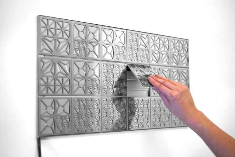 Modular oled wall tiles function as lighted wall art kumiko modular oled wall tiles function as lighted wall art aloadofball Choice Image