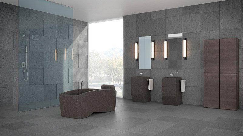 Lava stone bathtub from Ranieri