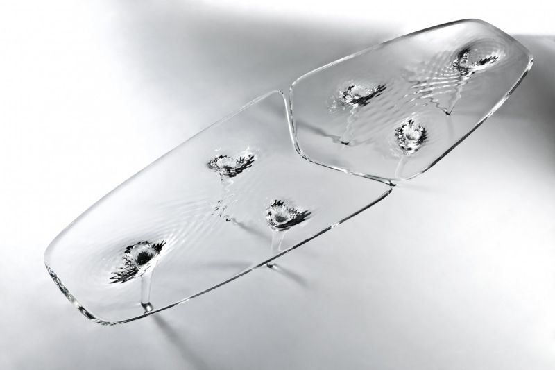 Liquid Glacial Coffee Table by Zaha Hadid