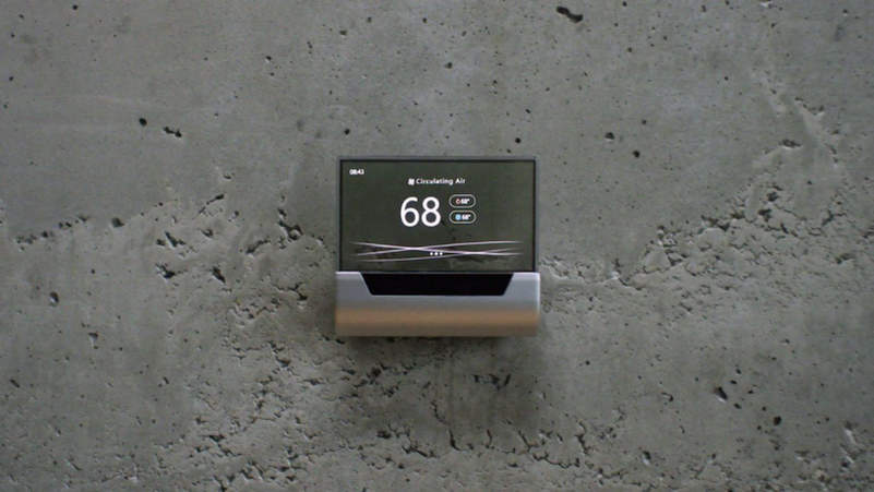 Microsoft announces GLAS smart thermostat