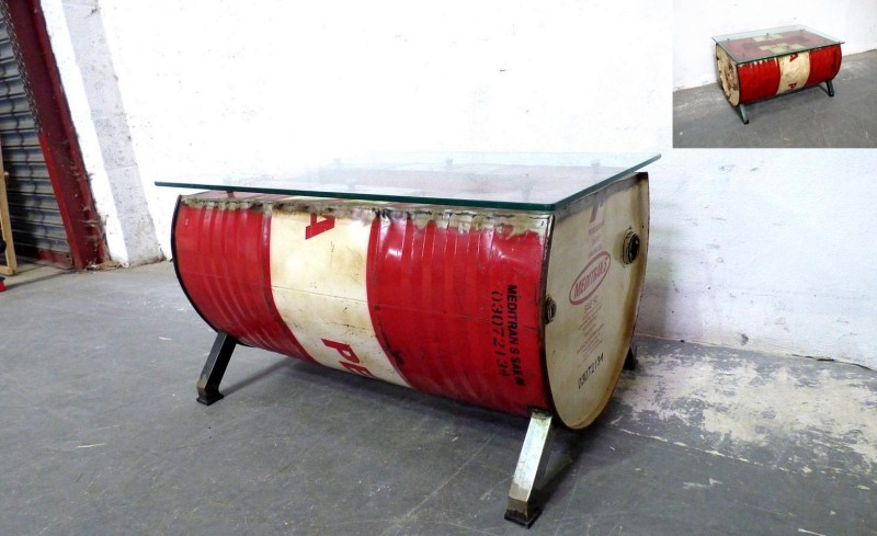 Oil Drum Coffee Table by Welbrook Interiors