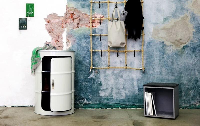 Oil Drum Furniture by Lockengeloet
