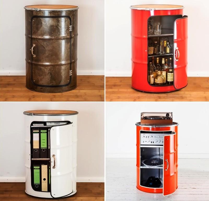 Oil Drum Furniture by Lockengeloet_1