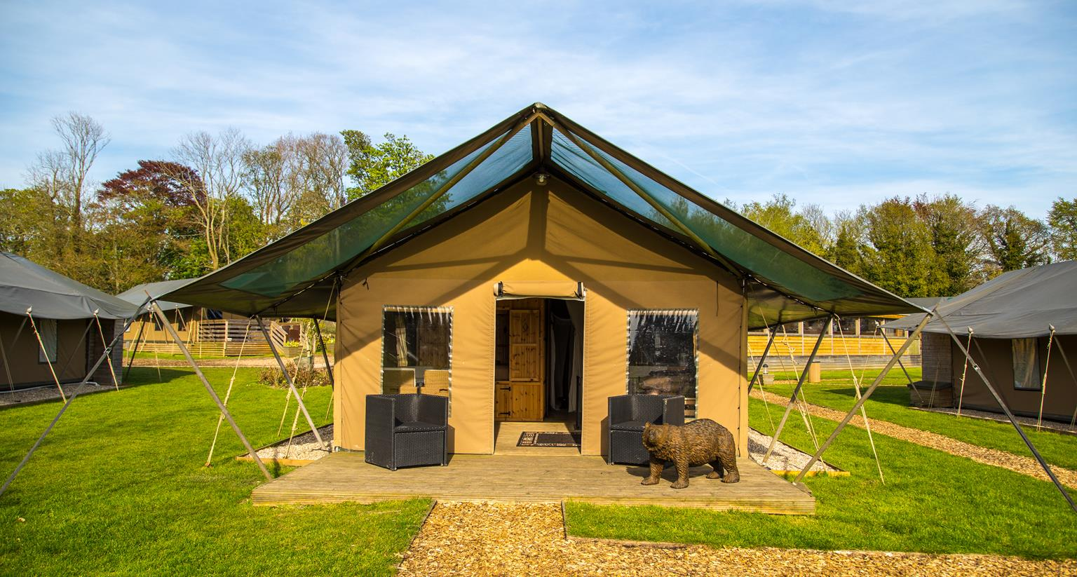 Port Lympne Reserve Bear Lodge