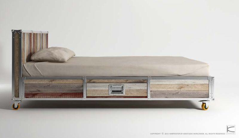 Roadie Storage bed by Karpenter