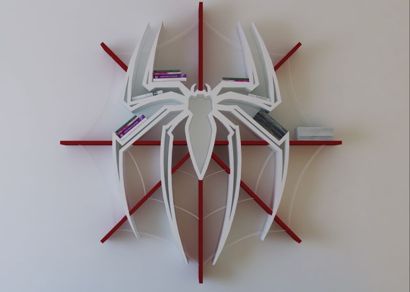 Spiderman Bookshelf