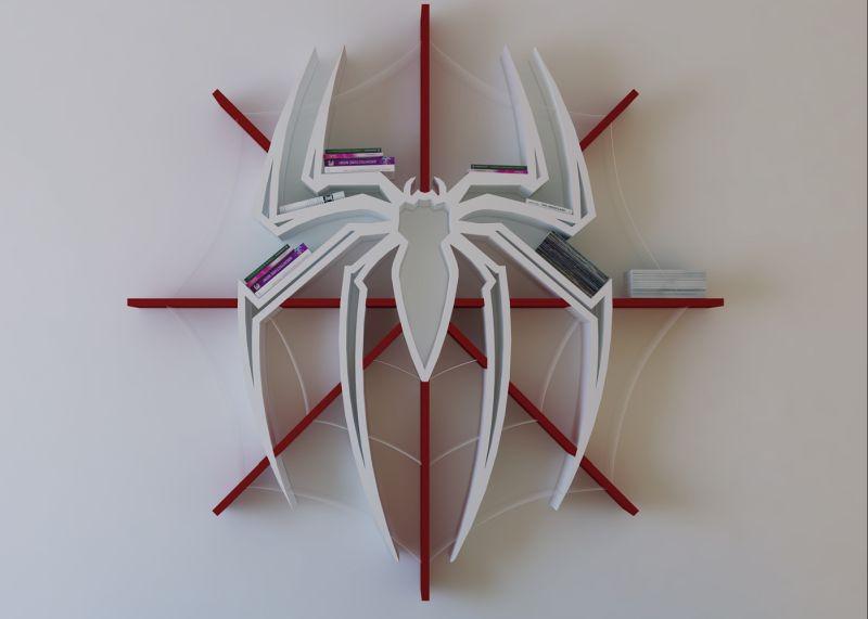Superhero Themed Bookshelf Designs For Any Bookworm