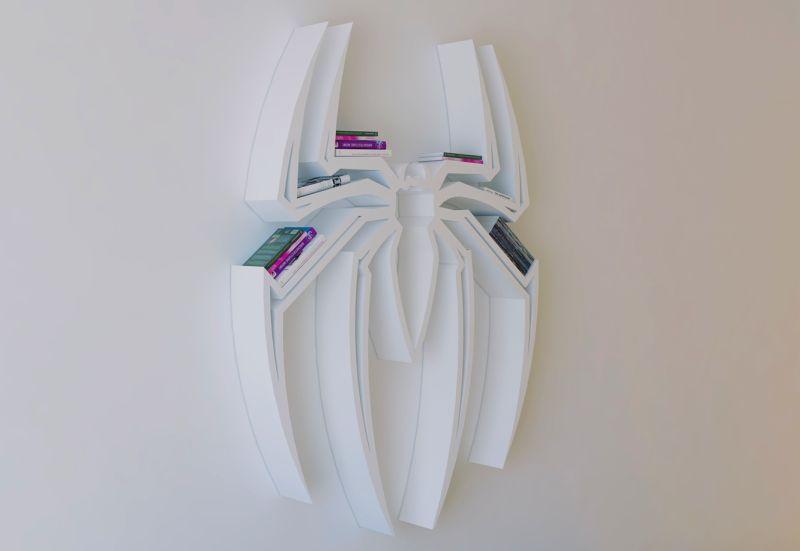 Spiderman Bookshelf