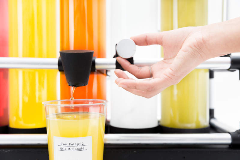 Squeeze Music juicer lets you taste your favorite music
