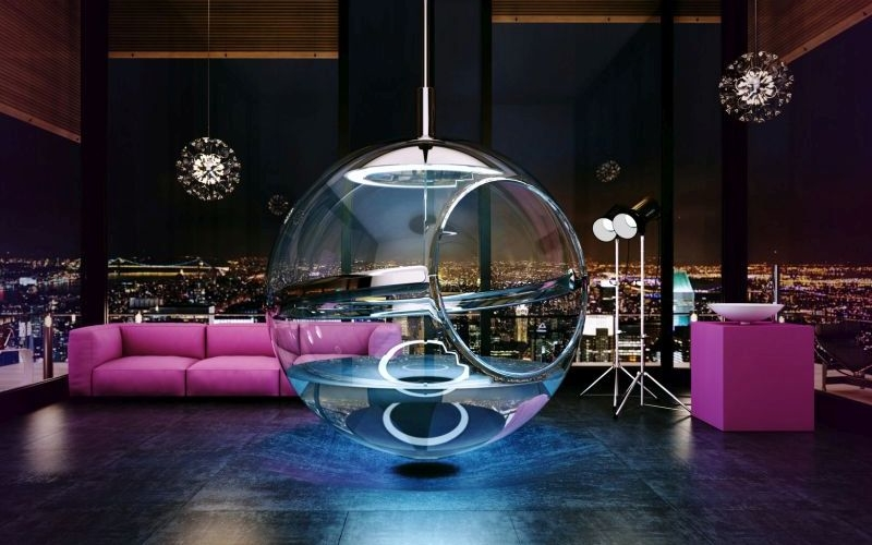25 ideas to give your home interior a transparent appeal