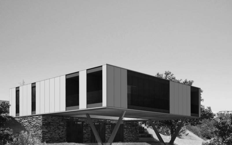 LAD designs two luxurious shipping container homes for Hometainer Italia