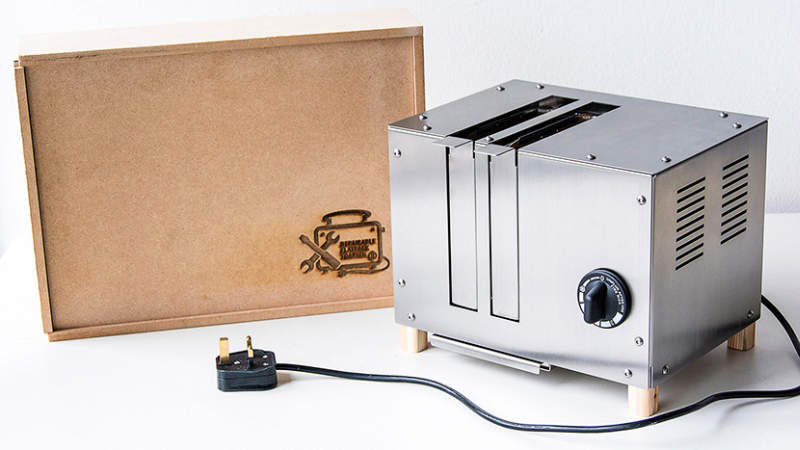 World's first repairable flat-pack toaster aims to reduce e-waste