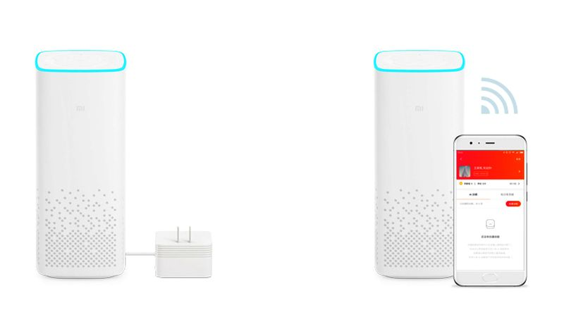 A voice-controlled speaker by Xiaomi