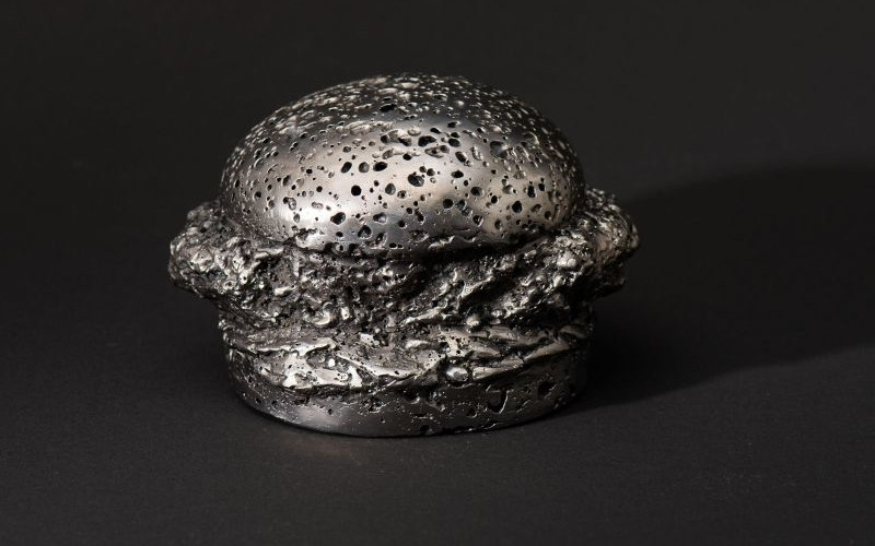 KFC sculpts real meteorite to resemble Zinger chicken sandwich