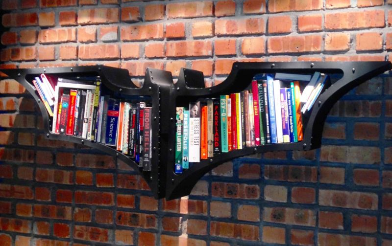 Superhero Themed Bookshelf Designs For Any Bookworm