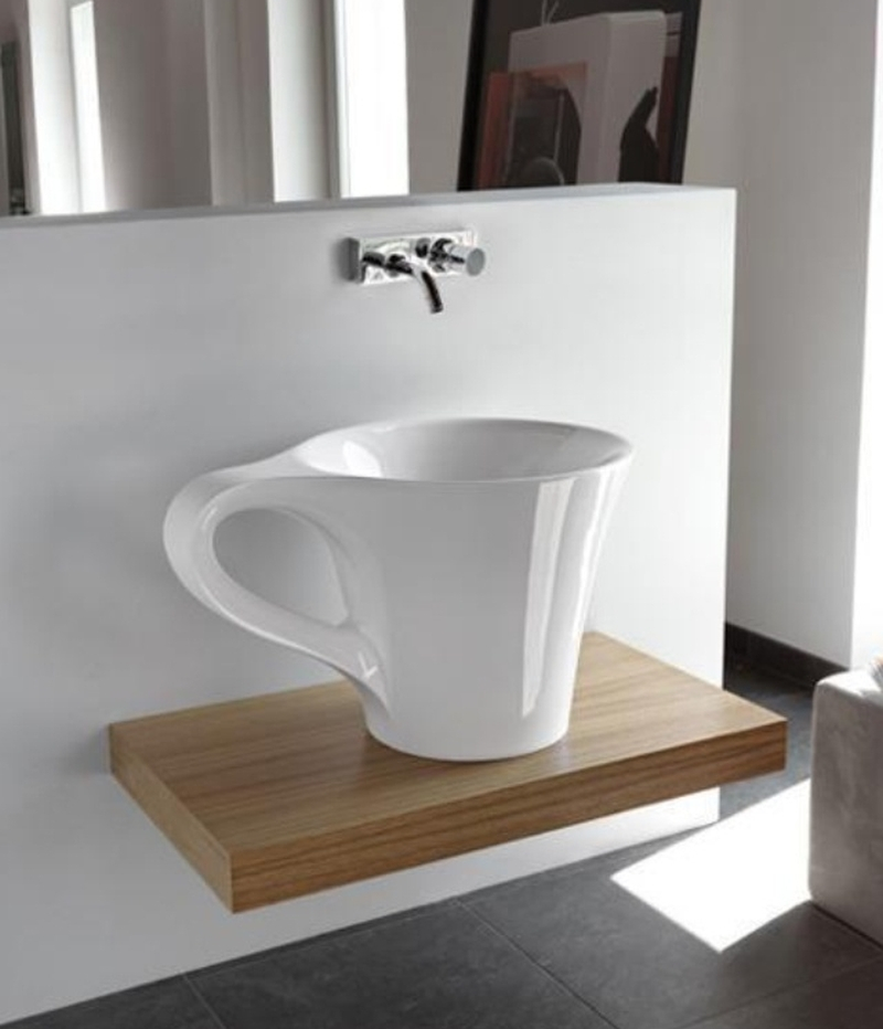 Wash up in style with these beautiful bathroom sinks