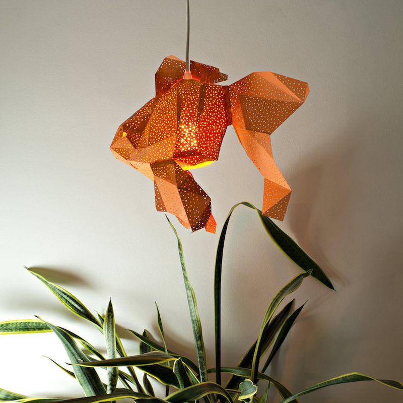Vasililights Studio Crafts Paper Lamp Shades In Shape Of