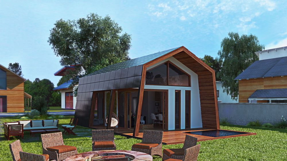 ecokit 39 s prefab cabin is sustainable home you can assemble for yourself. Black Bedroom Furniture Sets. Home Design Ideas