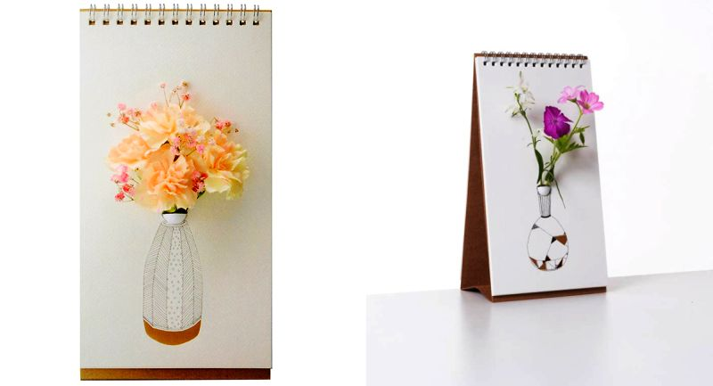 This incredible tabletop vase lets you flip new design every day