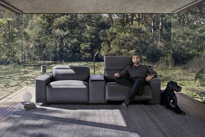 King Cloud Iii By Living Is The Porsche Of Recliner Sofas