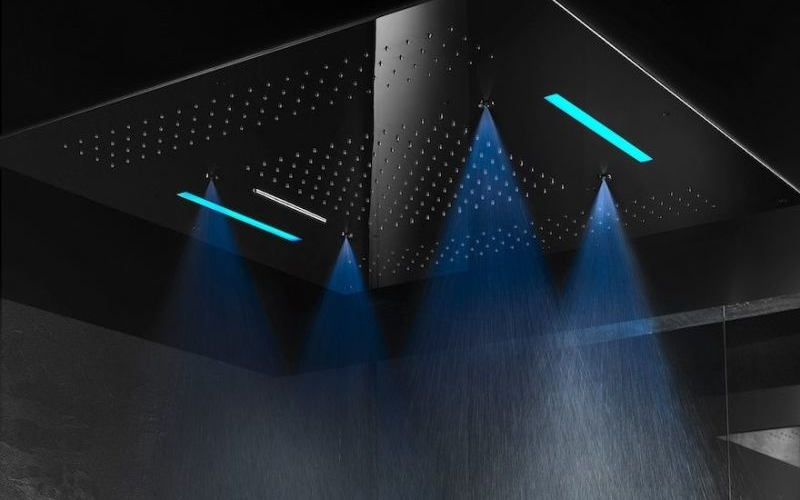 Gattoni Rubinetteria proposes relaxing multi-sensory shower environment