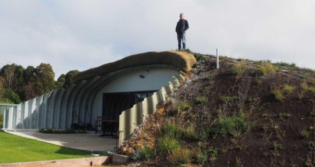 sustainable hobbit home