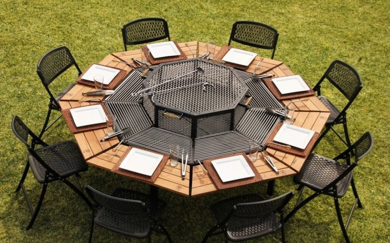 JAG Eight 3-in-one table will transform outdoor BBQ parties for good