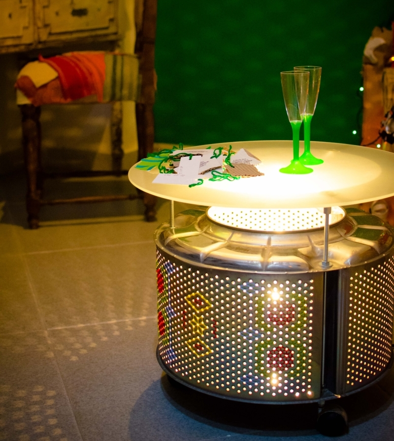 Creative Ideas To Recycle Washing Machine Drum Into