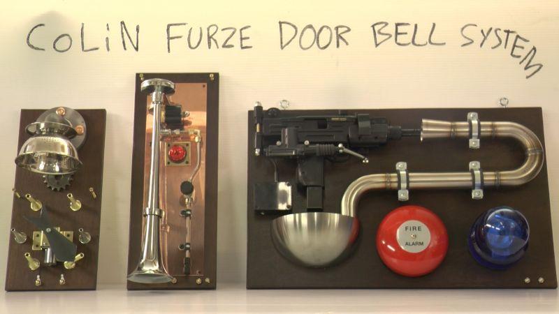 Colin Furze Door Bell system
