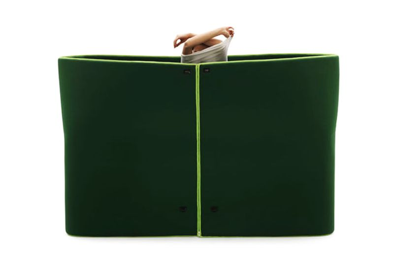 Sosia-Campeggi daybed by Emanuele Magini