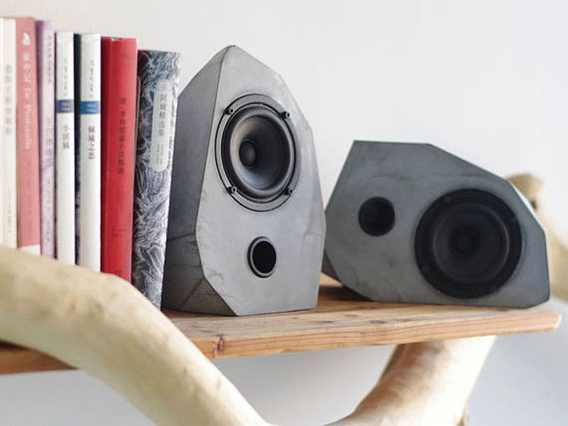 Geometrical speaker by Home Made Home Studio