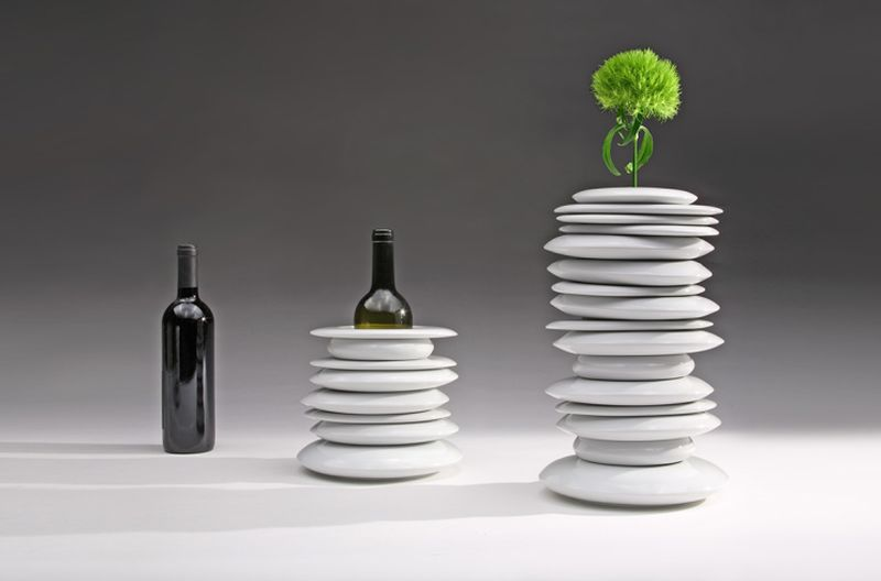 Hulahoop vase by Giopato & Coombes