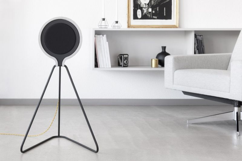 Concrete speaker by Vonschloo