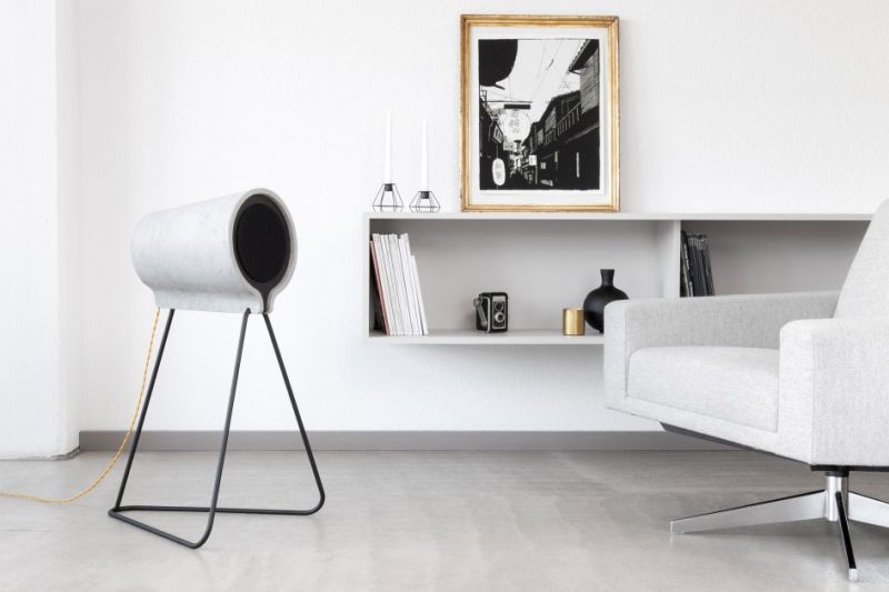 Concrete speaker Vonschloo
