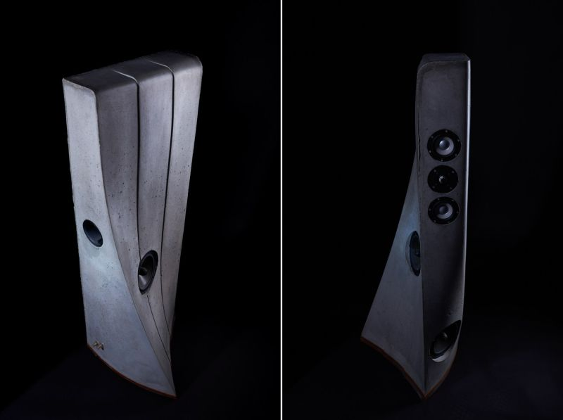 Concrete speaker by Destiny Audio