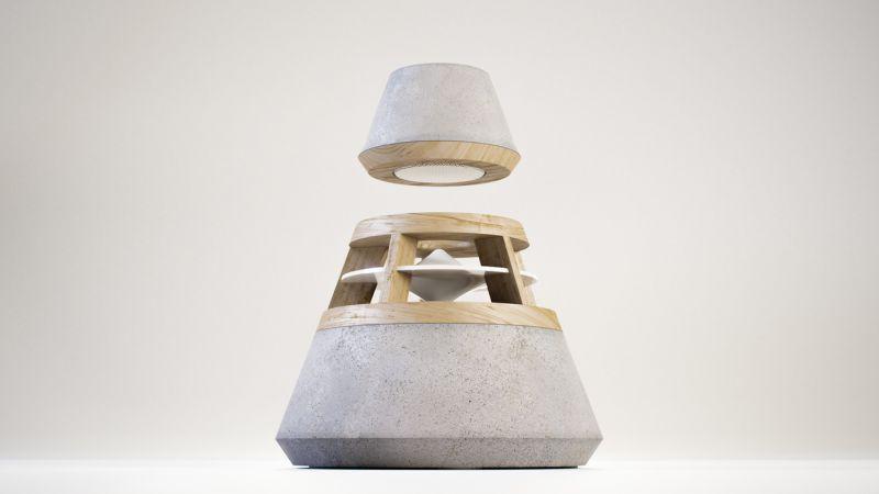 concrete speaker by HEVI