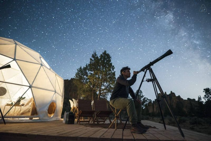Win a chance to experience solar eclipse in an Airbnb dome