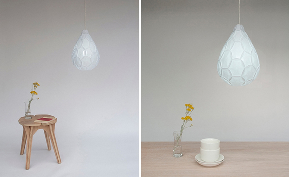 paper cloud lamp